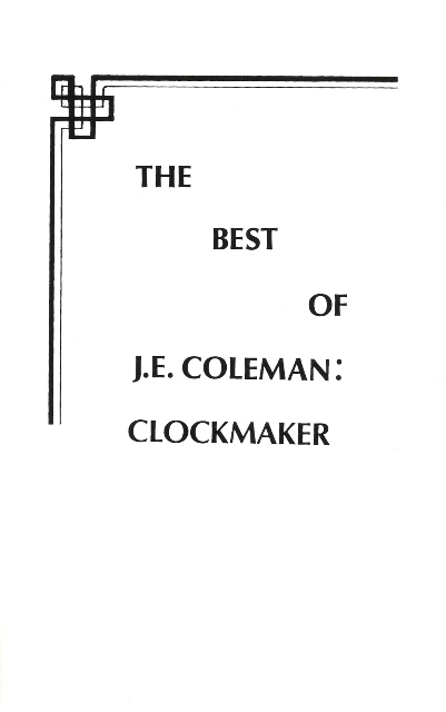 The Best of J.E. Coleman