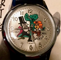 Comic and Cartoon Character Watches