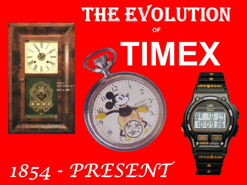 The Evolution of Timex, 1854 - Present