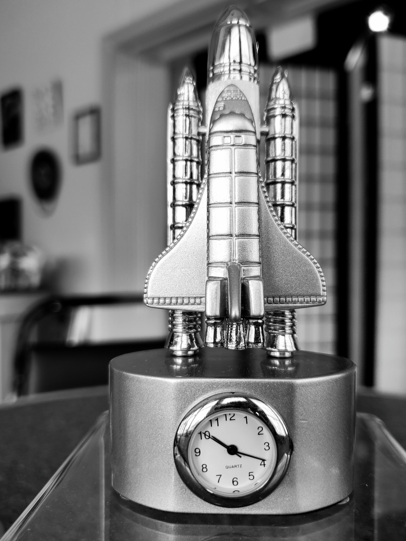 Space Shuttle- Mini Clock